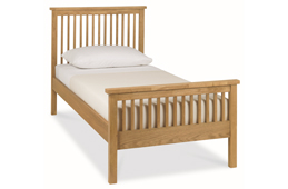 Single Wood and Oak Bed Frames
