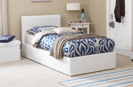Single Leather Beds