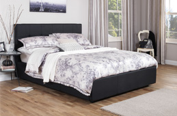 Small Double Leather Beds