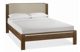 Double Wood and Oak Bed Frames