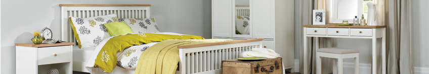 Atlanta Two Tone Bedroom Furniture Collection