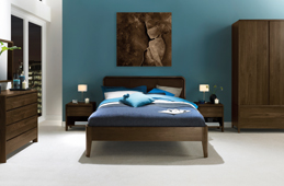 Capri Walnut Bedroom Collection