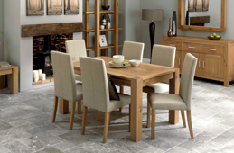 Lyon Oak Living & Dining Collection