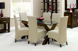 Lyon Walnut Living & Dining Collection