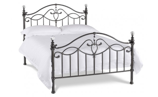 Bentley Designs Elena Black Nickel Bed Frame