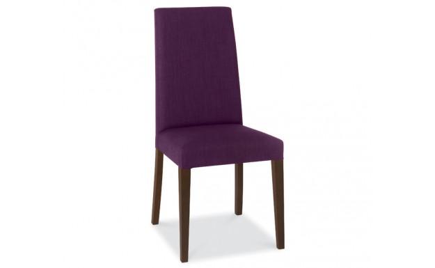 super popular 1d75d f5662 Bentley Designs Miles Walnut Plum Fabric Dining Chair