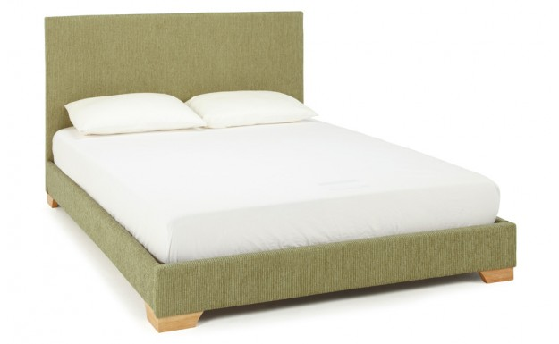 Serene Emily Mint Fabric Super King Size Bed Frame - £189.00