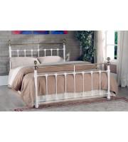 Limelight Tarvos King Size White Metal Bed Frames