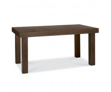 Bentley Designs Akita Walnut 6 - 8 End Extension Dining Table