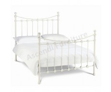 Bentley Designs Alice Single Antique White Bedstead