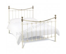 Bentley Designs Amelie Antique White Small Double Bed Frame