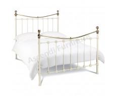 Bentley Designs Amelie Antique White King Size Bed Frame