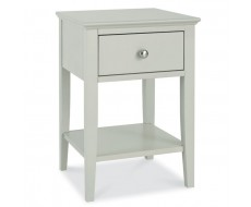Bentley Designs Ashby Cotton One Drawer Nightstand