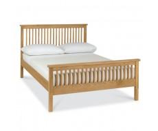 Bentley Designs Atlanta Oak Kingsize ( 150cm ) Bed Frame