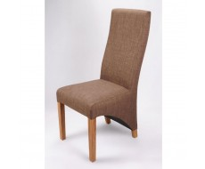 Shankar Baxter Cinnamon Fabric Dining Chair