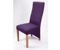 Shankar Baxter Plum Fabric Dining Chair