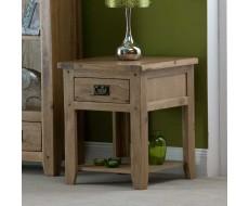 Cabos Oak Lamp Table