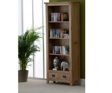 Cabos Solid Oak Tall Bookcase