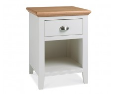 Bentley Designs Hampstead Two Tone One Drawer Bedside