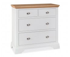 Bentley Designs Hampstead Two Tone 2 + 2 Chest of Drawers