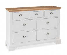 BENTLEY DESIGNS HAMPSTEAD TWO TONE 3 + 4 CHEST OF DRAWERS