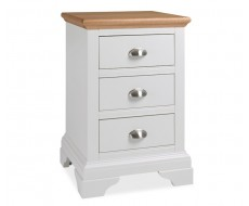 Bentley Designs Hampstead Two Tone 3 Drawer Bedside