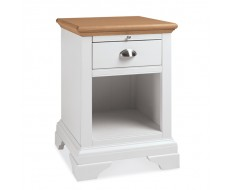 Bentley Designs Hampstead Two Tone Lamp Table
