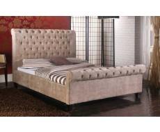 Limelight Orbit Mink Super King Size Fabric Bed Frame