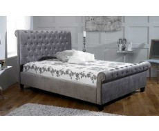 Limelight Orbit Silver Super King Size Fabric Bed Frame