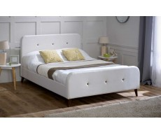 Limelight Tucana Ecru Double Fabric Bed Frame