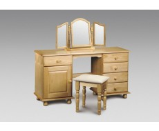 Julian Bowen Pickwick Pine Twin Dressing Table