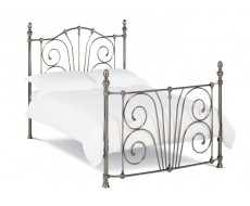 Bentley Designs Rebecca 135cm Nickel Plated Bed Frame