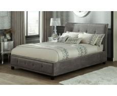 Serene Wesley Steel Super King Fabric Bed Frame