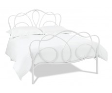 Bentley Designs Serenity 150cm White Bed Frame